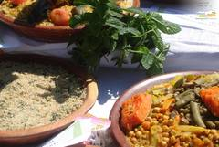 Traditional organic food produced in pilot project 4